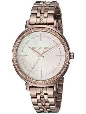 Michael Kors Cinthia Quartz Diamonds Accent MK3737 Women's Watch