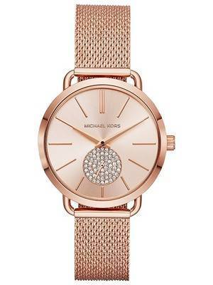 Michael Kors Portia Quartz Diamond Accent MK3845 Women's Watch