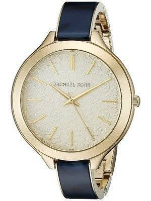 Michael Kors Slim Runway Gold Dial MK4309 Women's Watch