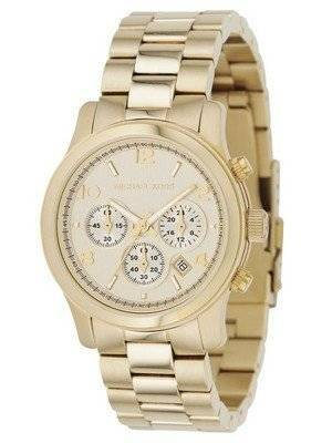 Michael Kors Yellow Golden Chronograph Runway MK5055 Unisex Watch