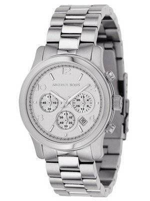 Michael Kors Silver Chronograph MK5076 Women's Watch