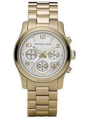 Michael Kors Classic Gold-Tone Chronograph MK5305 Women's Watch