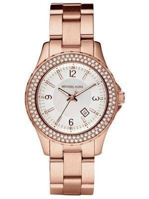 Michael Kors Madison Glitz Rose Gold Tone Analog MK5403 Women's Watch