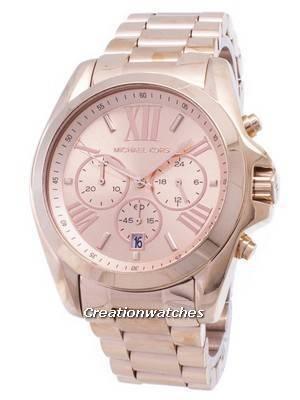 Michael Kors Bradshaw Chronograph Rose Gold-tone MK5503 Women's Watch