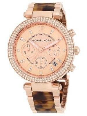 Michael Kors Parker Crystals Chronograph MK5538 Women's Watch