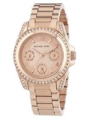 Michael Kors Blair Rose Gold Crystal MK5613 Women's Watch