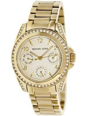 Michael Kors Chronograph Mini Blair Gold Tone MK5639 Women's Watch