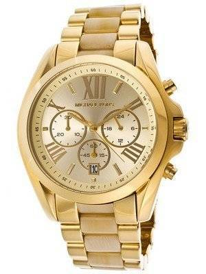 Michael Kors Bradshaw Chronograph Gold-Tone MK5722 Women's Watch