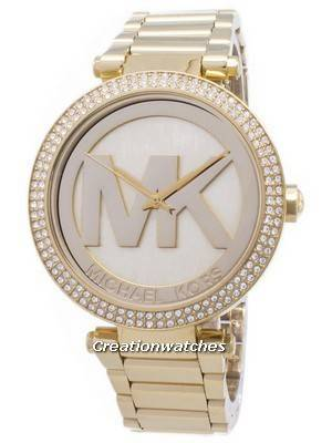 Michael Kors Parker Crystals MK Logo MK5784 Women's Watch