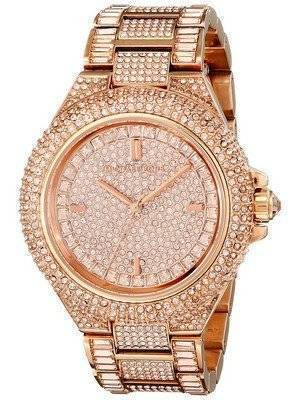 Michael Kors Camille Rose Gold Crystals Pave Dial MK5862 Women's Watch