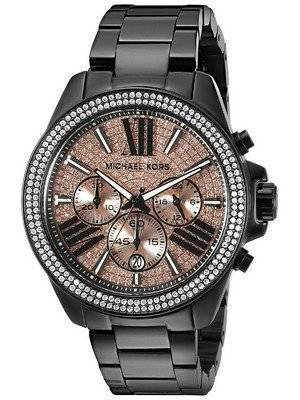Michael Kors Everest Chronograph Rose Dial MK5879 Women's Watch
