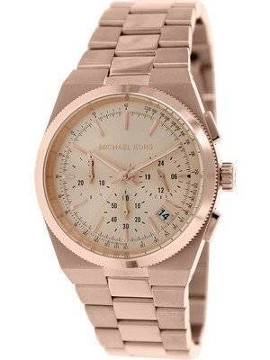 Michael Kors Channing Chronograph Rose Gold Dial MK5927 Women's Watch