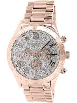 Michael Kors Layton Chronograph Crystal Pave Dial MK5946 Women's Watch