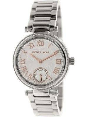 Michael Kors Skylar Silver Dial Crystals MK5970 Women's Watch