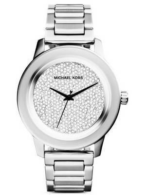 Michael Kors Kinley Quartz Crystal Pave Dial MK5996 Women's Watch