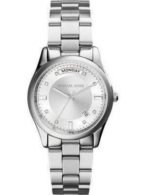 Michael Kors Colette Crystals Silver Dial MK6067 Women's Watch