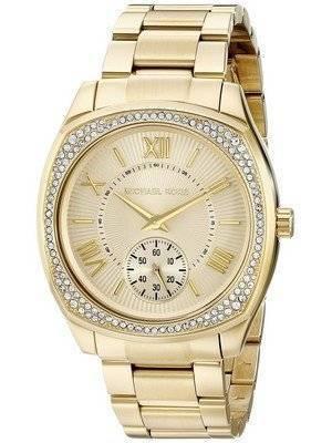 Michael Kors Bryn Gold Dial MK6134 Women's Watch