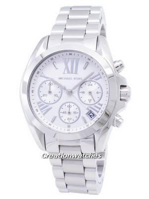 Michael Kors Bradshaw Chronograph Silver Dial MK6174 Women's Watch