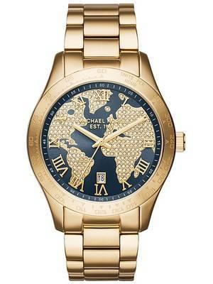 Michael Kors Layton Crystal Pave Quartz MK6243 Women's Watch