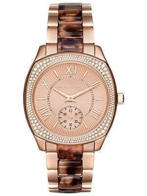 Michael Kors Bryn Rose Gold Crystals Accented MK6276 Women's Watch