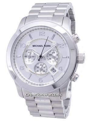 Michael Kors Silver Runway MK8086 Men's Watch
