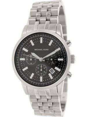 Michael Kors Scout Chronograph Black Dial Stainless Steel MK8316 Men's Watch