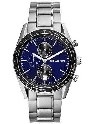 Michael Kors Accelerator Chronograph Blue Dial MK8367 Men's Watch