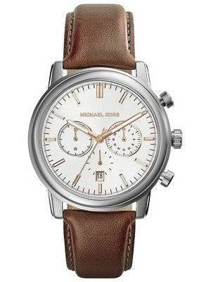 Michael Kors Landaulet Chronograph White Dial MK8372 Men's Watch