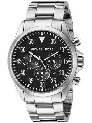 Michael Kors Gage Chronograph Black Dial MK8413 Men's Watch