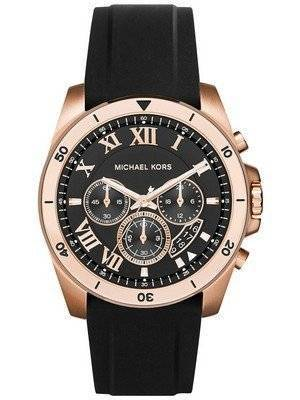 Michael Kors Brecken Black Dial Chronograph MK8436 Men's Watch