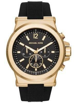 Michael Kors Dylan Black Dial Chronograph MK8445 Men's Watch
