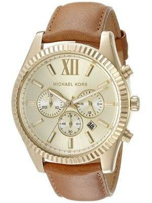 Michael Kors Lexington Chronograph Gold Dial MK8447 Men's Watch