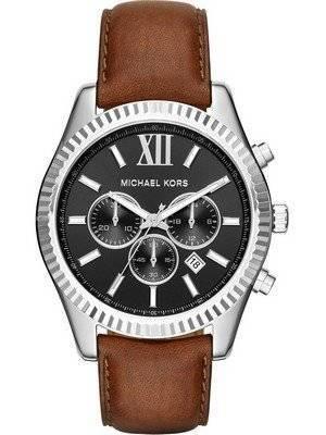 Michael Kors Lexington Black Dial Chronograph MK8456 Men's Watch