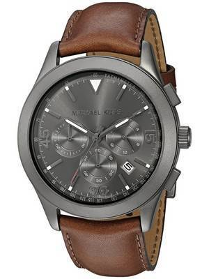 Michael Kors Gareth Chronograph Gunmetal Quartz MK8471 Men's Watch