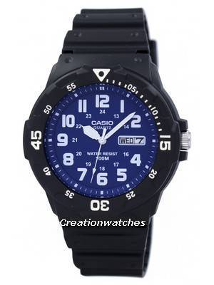 Casio Quartz Analog MRW-200H-2B2V MRW200H-2B2V Men's Watch