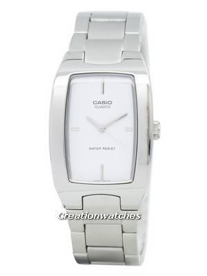 Casio Quartz Analog Rectangular Stainless Steel MTP-1165A-7CDF MTP-1165A-7C Men's Watch