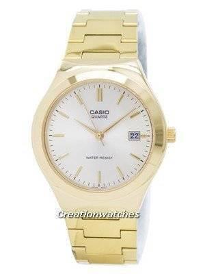 Casio Quartz Analog Gold Tone Dial MTP-1170N-9ARDF MTP-1170N-9AR Men's Watch