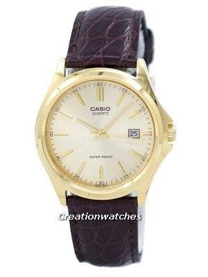 Casio Quartz Analog Gold Dial MTP-1183Q-9ADF MTP-1183Q-9A Men's Watch
