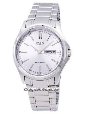 Casio Enticer Quartz Analog Silver Dial MTP-1239D-7ADF MTP-1239D-7A Men's Watch