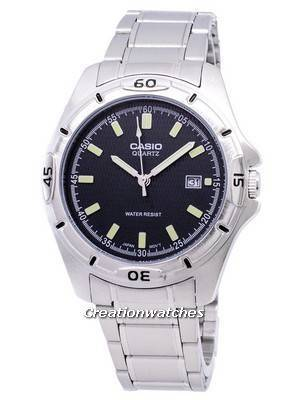 Casio Enticer Quartz Analog Black Dial MTP-1244D-8ADF MTP-1244D-8A Men's Watch