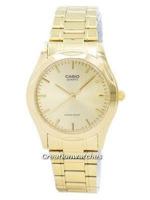 Casio Quartz Analog Gold Plated MTP-1275G-9ADF MTP-1275G-9A Men's Watch