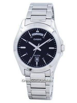 Casio Quartz MTP-1370D-1A1V Men's Watch