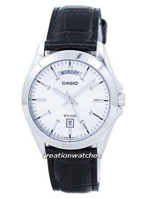 Casio Analog Silver Dial MTP-1370L-7AVDF MTP-1370L-7AV Men's Watch