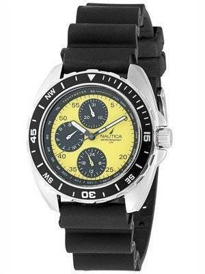 Nautica Yellow Multifunction N07564G Men's Watch