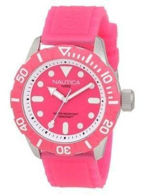 Nautica South Beach Jelly NSR N09607G Men's Watch