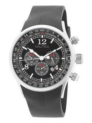 Nautica Black NST Chronograph N13530G Men's Watch