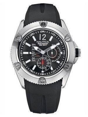 Nautica NSR-04 Black N13540G Men's Watch