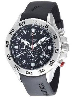 Nautica Black NST Chronograph N14536G Men's Watch