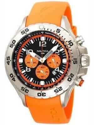 Nautica Orange NST Chronograph N14538G Men's Watch