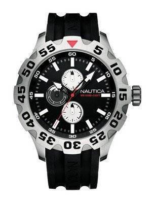 Nautica Black BFD 100 N15564G Men's Watch